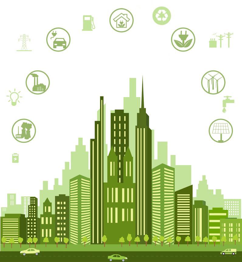 Green-city-concept