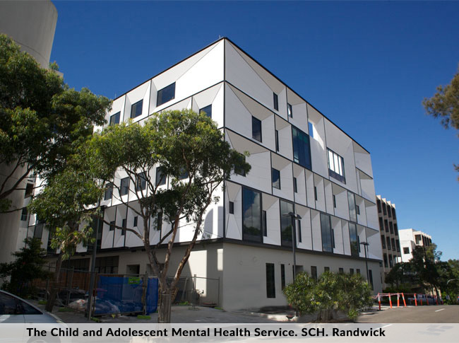 The Child and Adolescent Mental Health Service. SCH. Randwick