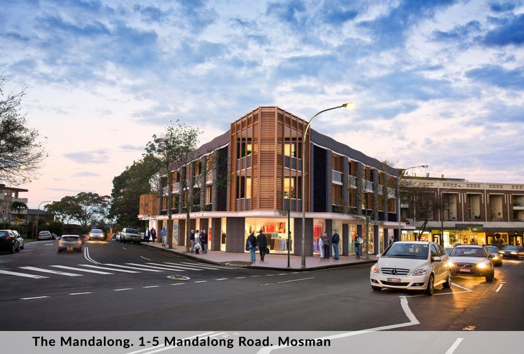 The Mandalong. 1-5 Mandalong Road. Mosman