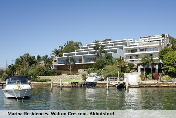 Marina Residences. Walton Crescent. Abbotsford